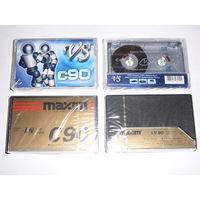 Аудиокассеты VS кассеты чистые c90