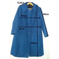 Пальто демисезонные из 60-70х, синее, красное, черное, р.48-50, 3шт