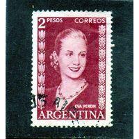 Аргентина.Ми-601. Эва Перон,первая леди Аргентины, актриса.1952.