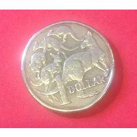 Австралия, 1 доллар 1985г.