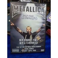 DVD. Metallica. Live at the olimpic main stadium. Seoul, Korea, august 19th,2006.