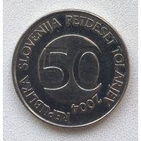 50 толаров 2004 Словения
