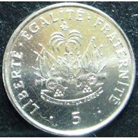 6633:  5 сантимов 1995 Гаити