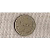 Иран 2000 риалов 2010(1389)/50 лет Центральному банку Ирана/KM# 1276