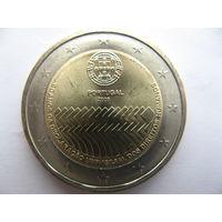 Португалия 2 евро 2008 г. 60 лет Всеобщей Декларации Прав Человека. (юбилейная) UNC!
