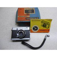 Фотоаппарат Чайка-II Чайка-2 с объективом Индустар-69 проверенный и готовый к съёмке, в коробке