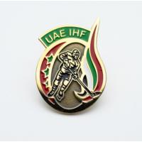 Официальный значок федерация хоккея ОАЭ