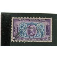 Новая Зеландия.Ми-255.Британская монархия.Королева Виктория, Эдуард VII,Эдуард VIII.Георг V, Георг VI. 1940.