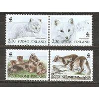 Финляндия 1993 Фауна