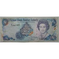 Каймановы острова 1 доллар 2001 г. (u)