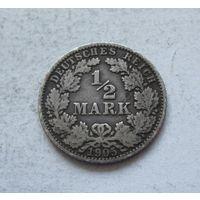 Германия 1/2 марки 1905 A (Берлин) 5