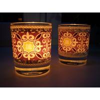 Стаканы-подсвечники, стаканы для ватных палочек и прочего