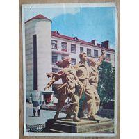 Вiцебск. Скульптурная група. 1962 г. Падпiсана.