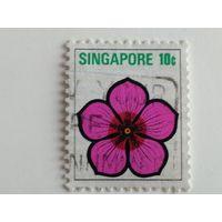 Сингапур 1973. Флора
