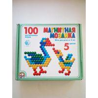 Мозаика детская магнитная на 100 фишек, Россия, новая.