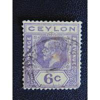 Британская колония  Цейлон. Георг V.