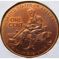 США 1 цент 2009 год