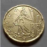 20 евроцентов, Франция 2007 г.