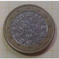 1 евро Португалия 2002