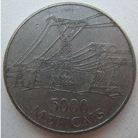 Мозамбик 5000 метикалов 1998 г.