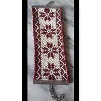 Национальные плетёные  браслеты ручной работы  на заказ