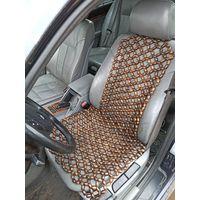 Накидка на сиденье массажная, покрыта лаком