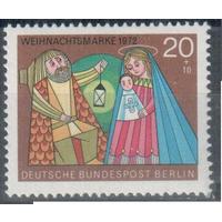 Германия, Берлин 1972 Рождество, Искусство ; 1 м.**
