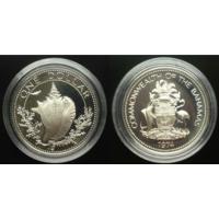 1  доллар Багамские острова 1974 г