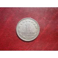 1 динар 1965 год Югославия