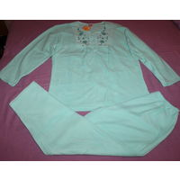 Пижама женская махровая. Размер 58-60
