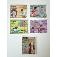 Камбоджа 1987. Олимпийские игры