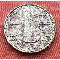 126-14 Барбадос, 5 центов 1996 г.