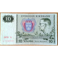 Швеция 10 крон 1979г