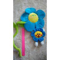Мягкие игрушки цветочки