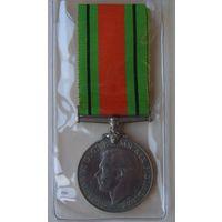 Великобритания.Медаль Обороны 1939-1945 гг.