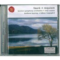 CD Faure - Boston Symphony Orchestra, Tanglewood Festival Chorus, Seiji Ozawa, Barbara Bonney, Hakan Hagegard, Warren Jones - Requiem (2003)