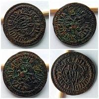 Редкость!!! Полушка Петра I 1703 года!!! Очень достойное состояние для редкой монеты Vf+++>Xf!!!
