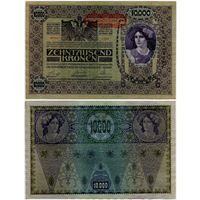 Австрия. 10 000 крон (образца 1918 года, выпуск 1919, P65)