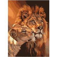 Набор для живописи ''Львы''