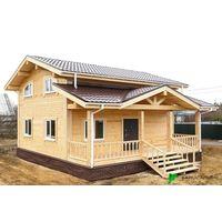 Каркасный Дом под ключ 7.2х8.1 м проект Оттава