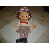 Кукла СССР Футболист С Подвижными Глазами Редкая