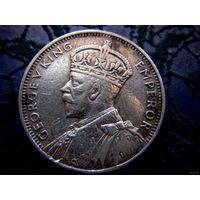 Британский Маврикий 1/4 рупии 1936