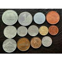 Набор монет Азии.