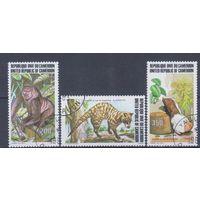 [618] Камерун 1983. Фауна.Дикие животные. Гашеная серия.