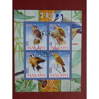 Малави 2008г. Птицы.