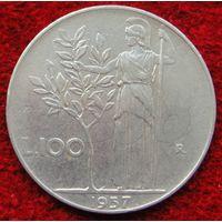 6881:  100 лир 1957 Италия