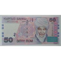 Киргизия 50 сом 2002 года UNC