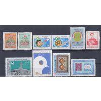 [1759] Иран. 10 чистых марок.