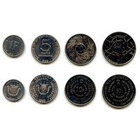 Бурунди 1, 5, 10 и 50 франков 1980 г. 2003 г. 2011 г. (KM#19, KM#20, KM#21, KM#22)