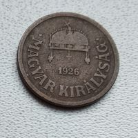 Венгрия 2 филлера, 1926 1-1-13